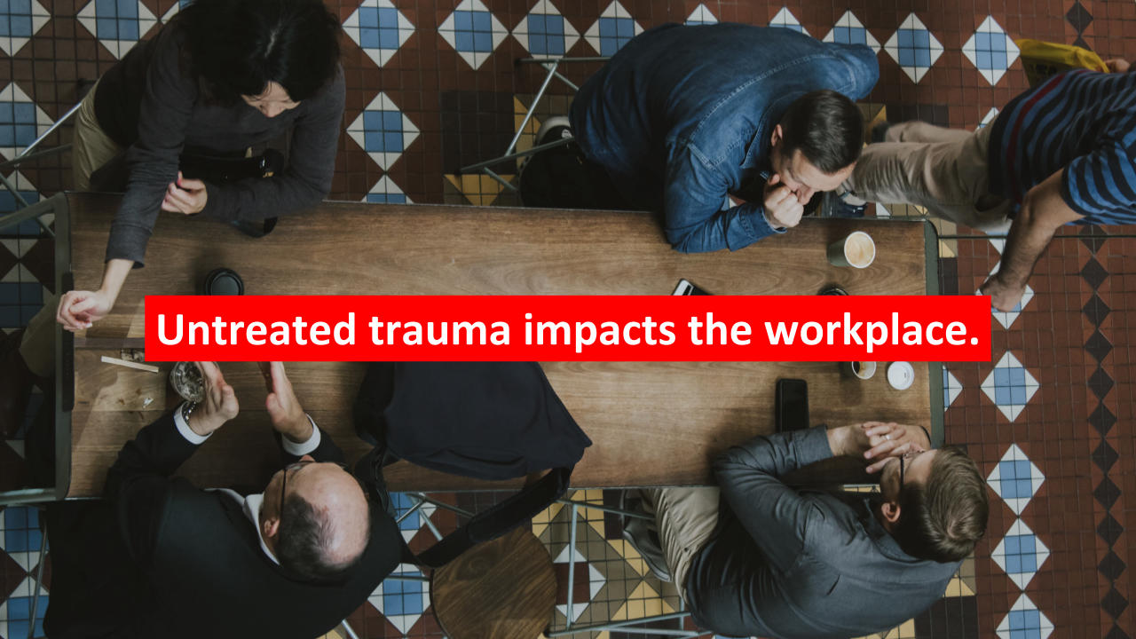 Untreated trauma in the workplace