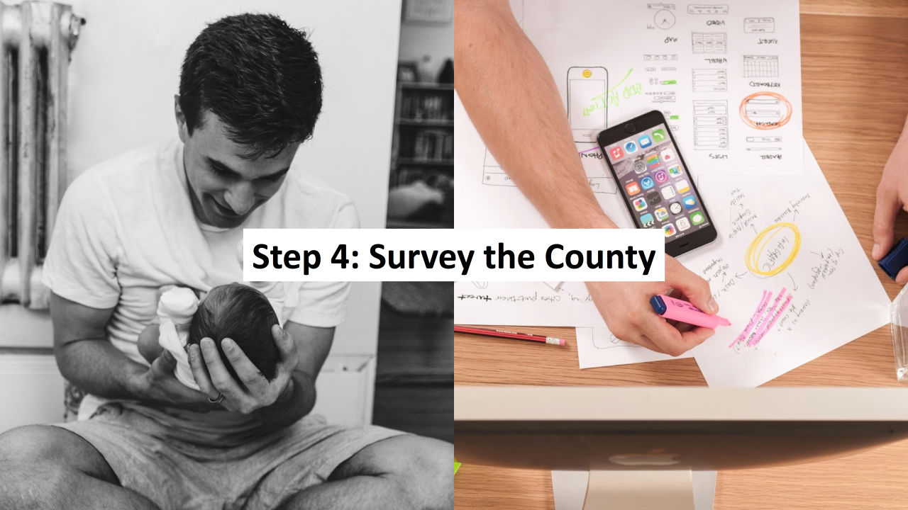 Step 4: Conduct the 100% Community Survey