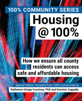 100% Inspiring Download a FREE PDF copy of the book Housing@100%.