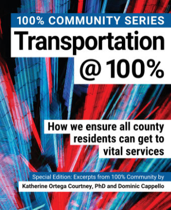 100% Inspiring Download a FREE PDF copy of the book Transportation@100%.