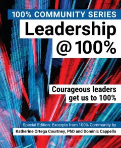 100% Inspiring Download a FREE PDF copy of the book Leadership@100%.