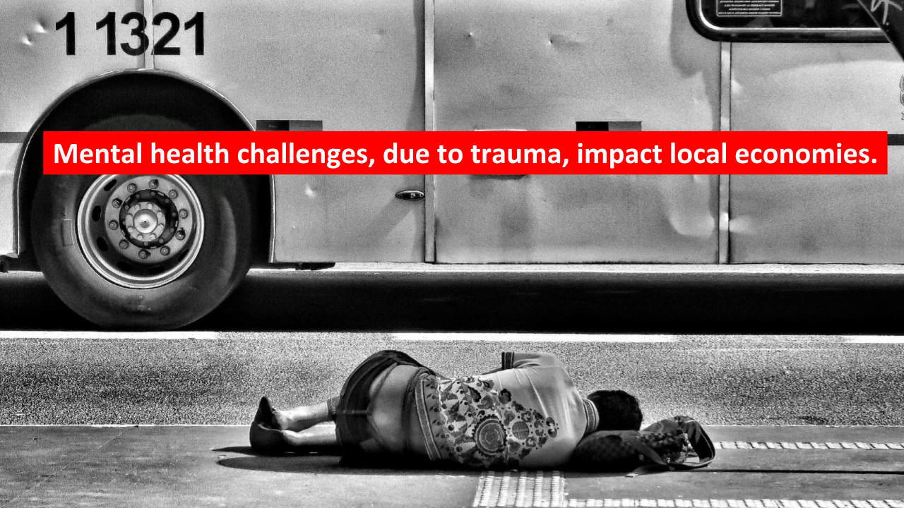 Trauma impacts our urban and rural communities