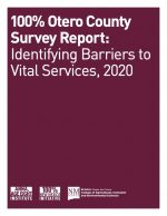 Initiative teams are surveying families across their county, getting the answers about gaps in vital services. Review the Otero County Survey Report.